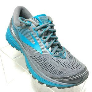 Brooks Ghost 10 Running Shoes Gray Blue